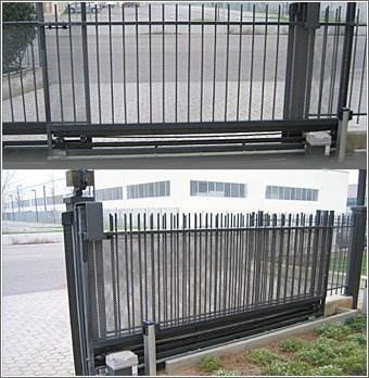 assistenza tecnica Ditec automatismo per cancello ad anta battente Mantova