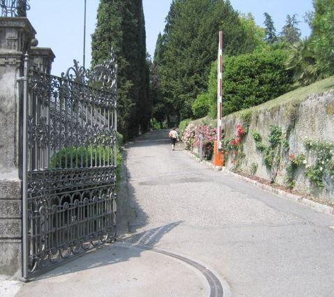 cancelli telescopici Fadini Villa Poma