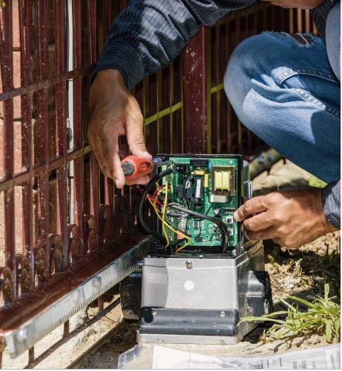 assistenza tecnica GiBiDi cancelli elettrici Mantova